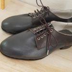 2020/06/28生徒さん靴完成
