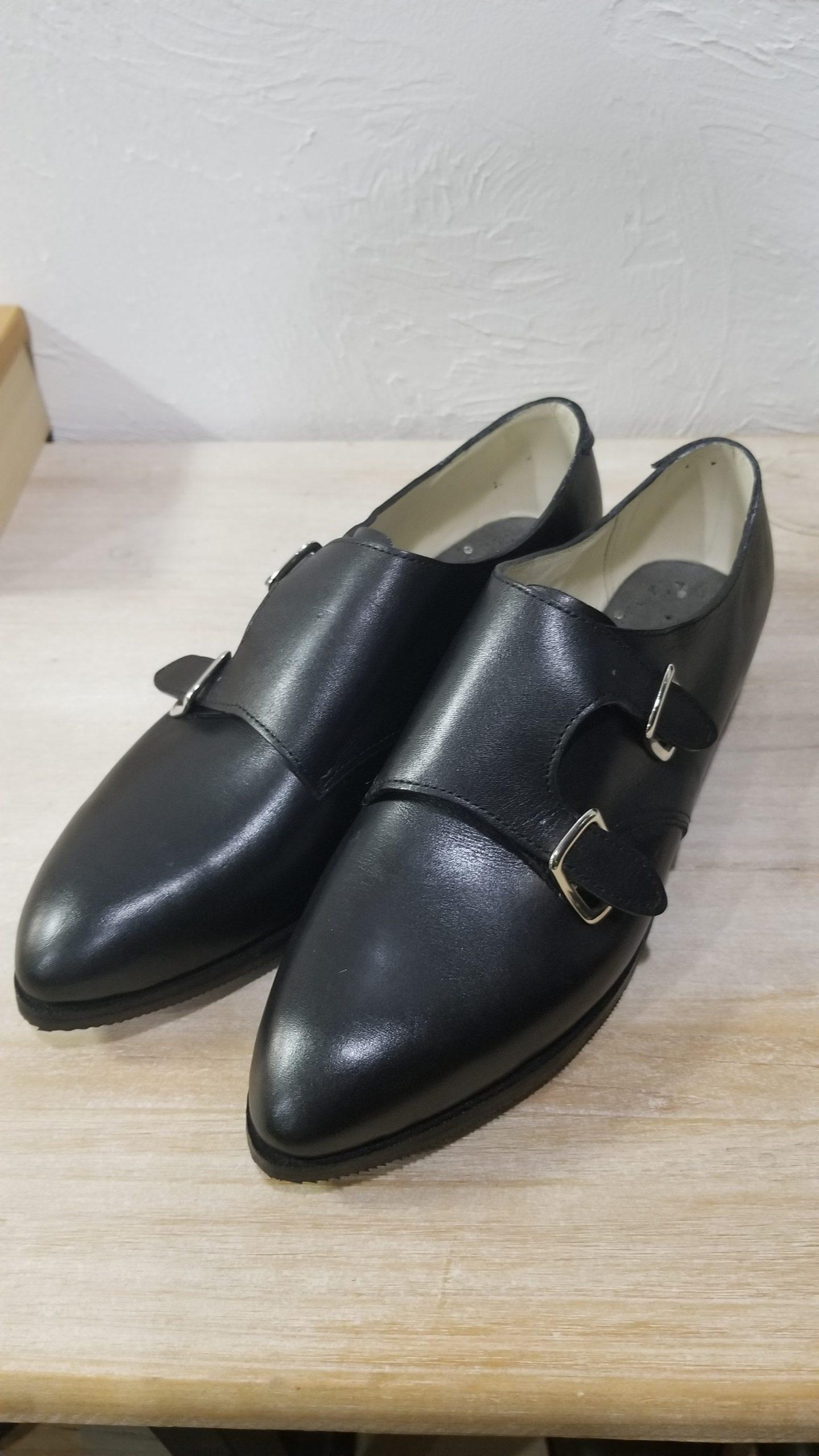 2020/09/04生徒さん靴完成