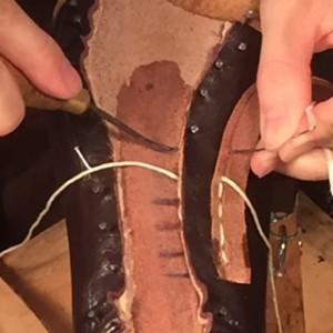 靴教室 掬い縫い